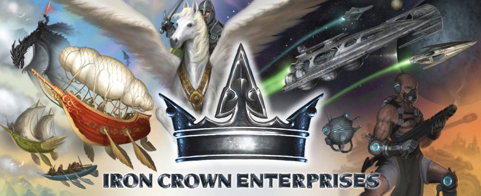 IronCrown | Iron Crown Enterprises | RPGs | Roleplaying Games | HARP |  Rolemaster | ICE | Tabletop RPG