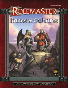 Races and Cultures for Rolemaster Fantasy Role Playing RPG
