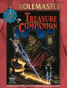 Rolemaster Fantasy Role Playing Treasure Law