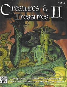 Creatures and Treasures 2 for Rolemaster