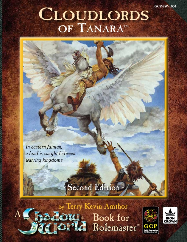 Cloudlords of Tanara Rolemaster RPG