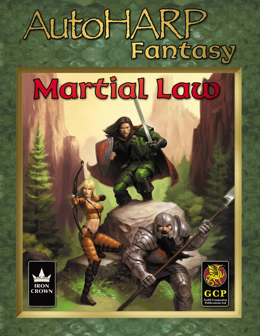 AutoHARP Fantasy: Martial Law RPG Software