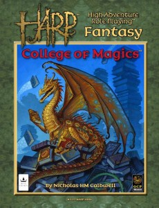 HARP RPG College of Magics