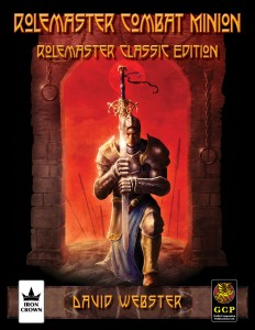 Rolemaster Combat Minion Software