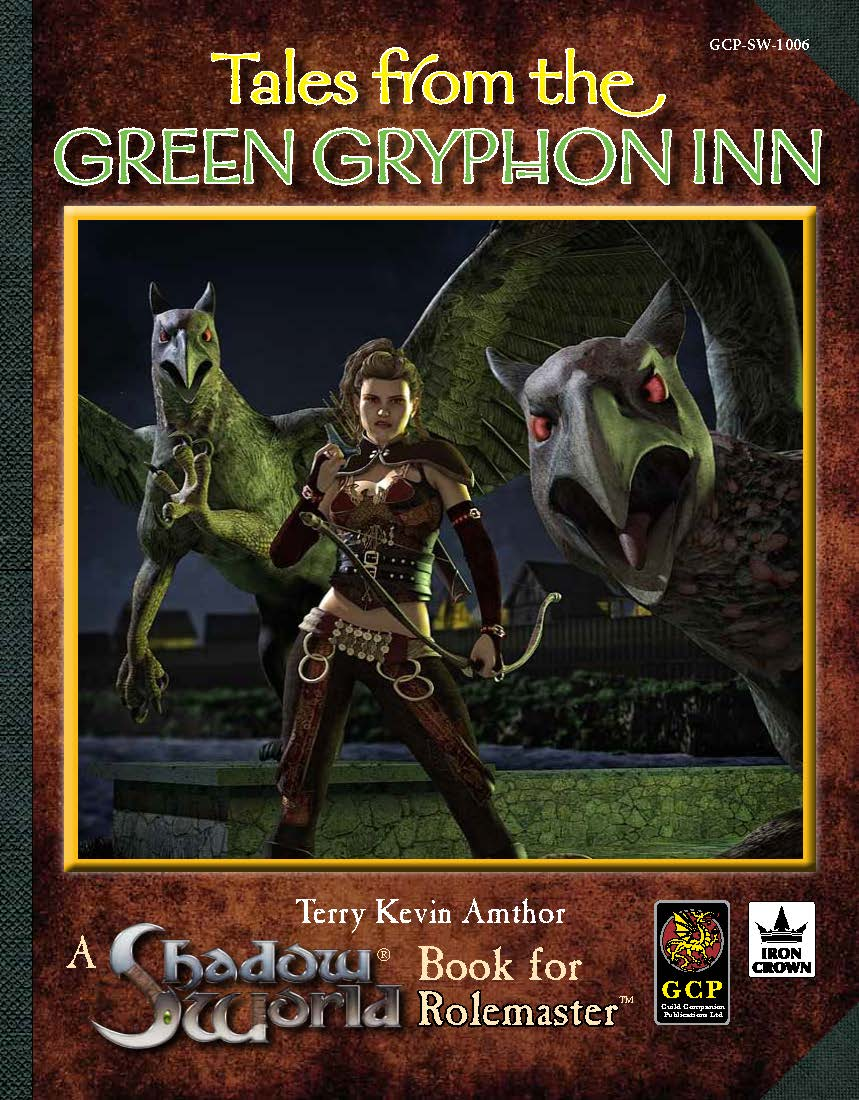 Green Gryphon Inn RPG adventure cover