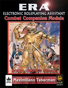 ERA Combat Companion Module for Rolemaster Fantasy Role Playing