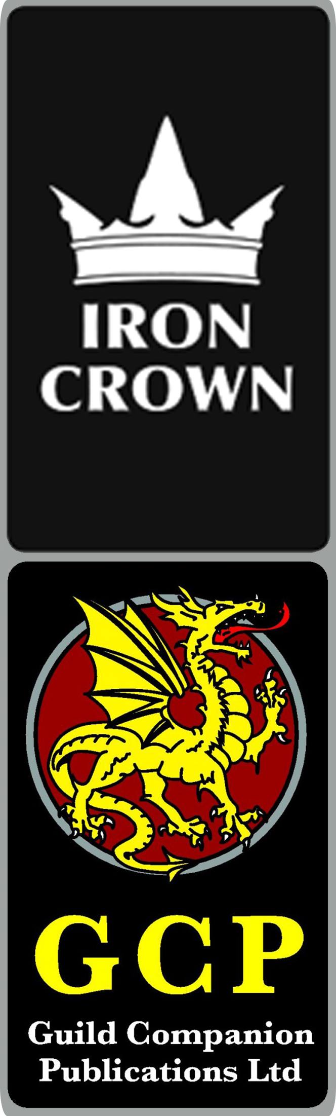 Guild Companion Publications and Iron Crown Enterprises logos