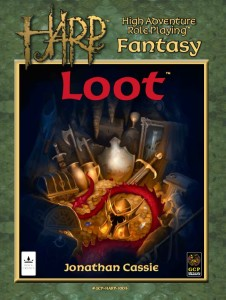 HARP Loot for High Adventure Roleplaying RPG