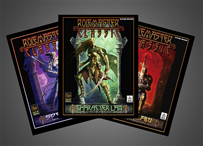 Rolemaster Classic Covers