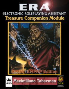 ERA for Rolemaster Treasure Companion for RMSS