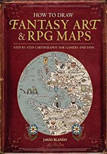 Fantasy art and RPG maps cover